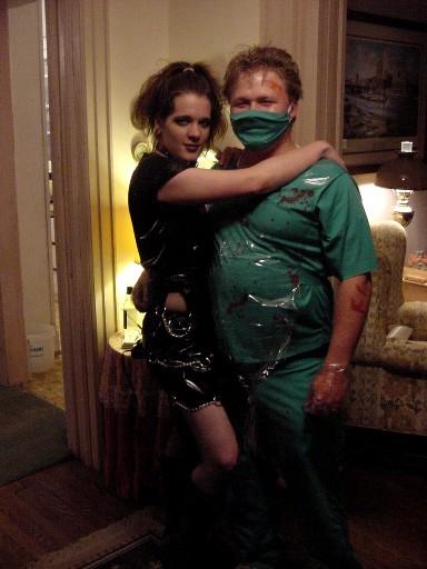 "Lloyd & Lynn as Inept Surgeon & ""Nurse"""