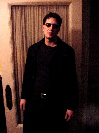 Stephen as Neo