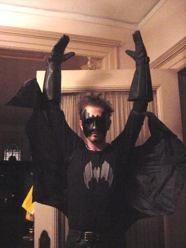 Me as Die Fledermaus